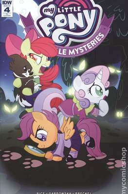 My Little Pony: Ponyville Mysteries (Variant Cover) (Comic Book) #4.1