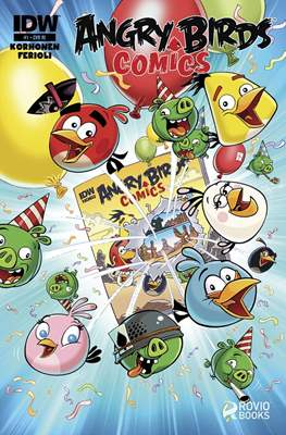 Angry Birds Comics (2016) (Grapa) #1.2