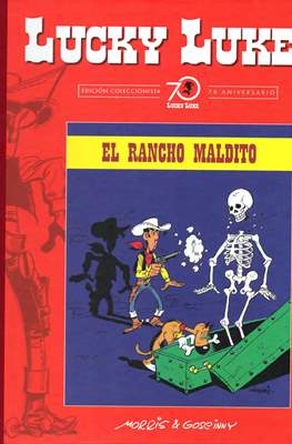 Lucky Luke. Edición coleccionista 70 aniversario (Cartoné con lomo de tela, 56 páginas) #48