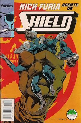 Nick Furia, Agente de SHIELD vol. 1 (1990-1991) (Grapa. 17x26. 32 páginas. Color. (1990).) #3
