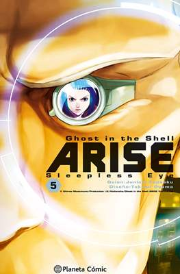 Ghost in the Shell Arise: Sleepless Eye (Rústica con sobrecubierta) #5