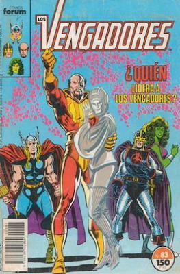 Los Vengadores Vol. 1 (1983-1994) (Grapa) #83