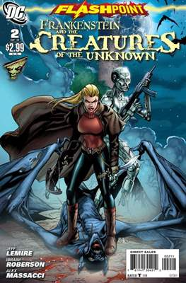 Flashpoint: Frankenstein and the Creatures of the Unknown Vol 1 (Grapa) #2