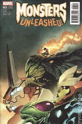 Monsters Unleashed (2017- Variant Cover) (Comic Book) #3