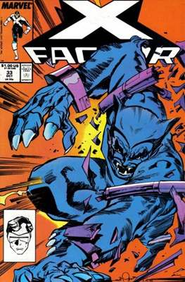 X-Factor Vol. 1 (1986-1998) (Comic Book) #33