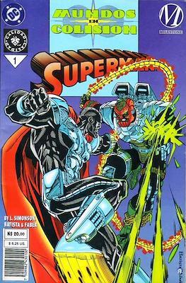 Superman: Mundos En Colision (Rústica) #1