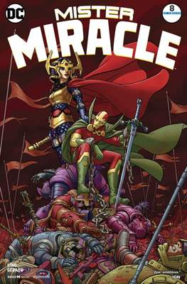 Mister Miracle (Vol. 4, 2017- 2018) #8