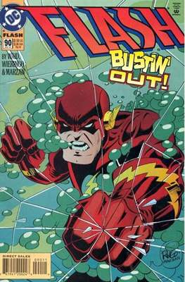 The Flash Vol. 2 (1987-2006) (Comic Book) #90