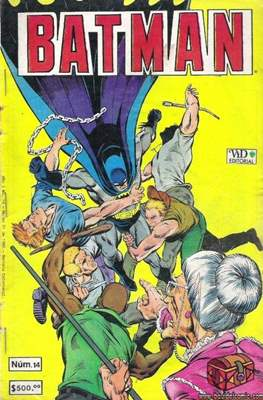 Batman (1987-2002) (Grapa) #14