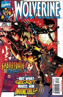 Wolverine (1988-2003) (Comic Book) #126