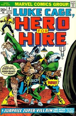 Hero for Hire/Power Man Vol.1 (1972-1978) (Grapa, 32 págs.) #8