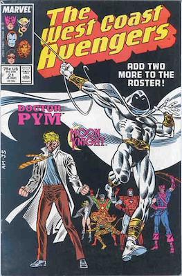 West Coast Avengers Vol. 2 (Comic-book. 1985 -1989) #21