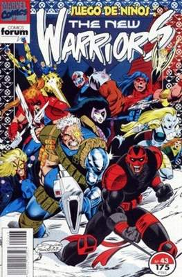 The New Warriors vol. 1 (1991-1995) (Grapa. 17x26. 24 páginas. Color. (1991-1995).) #43