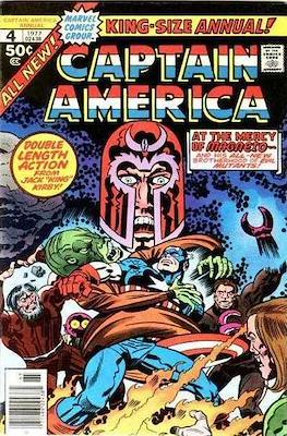 Captain America Vol. 1 Annual (1971-1994) (Comic Book) #4
