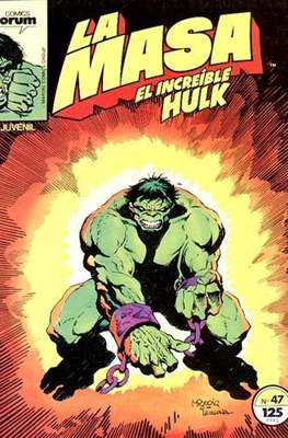 La Masa. El Increíble Hulk (Grapa 36-32 pp) #47