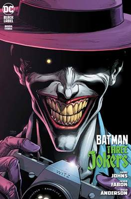 Batman: Three Jokers (Variant Cover) #3.1