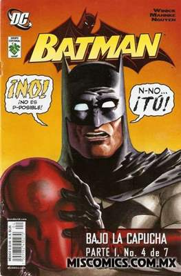 Batman. Bajo la capucha parte 1 #4
