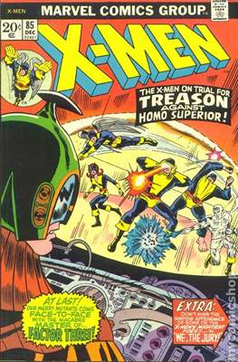 The Uncanny X-Men (1963-2011) (Comic-Book) #85