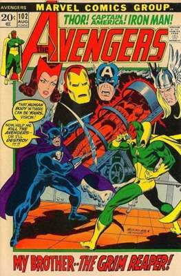 The Avengers Vol. 1 (1963-1996) (Grapa) #102