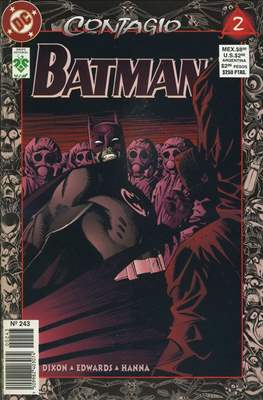 Batman Vol. 1 (1987-2002) (Grapa) #243