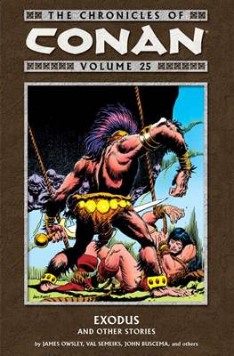 The Chronicles of Conan the Barbarian (Paperback) #25