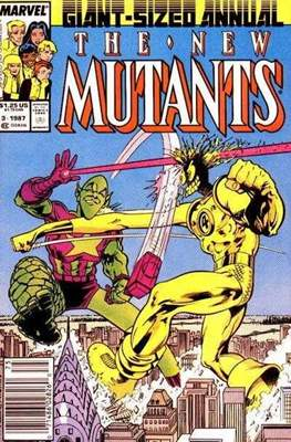 The New Mutants Annual (Grapa) #3