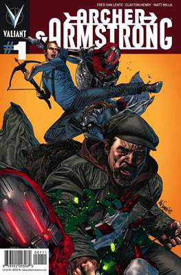 Archer & Armstrong (Comic Book) #1