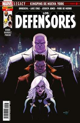 Los Defensores (2017- 2018) (Grapa 48 pp) #7