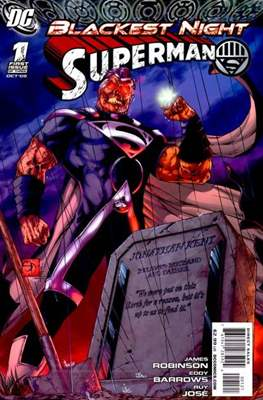 Blackest Night: Superman (2009) (saddle-stitched) #1