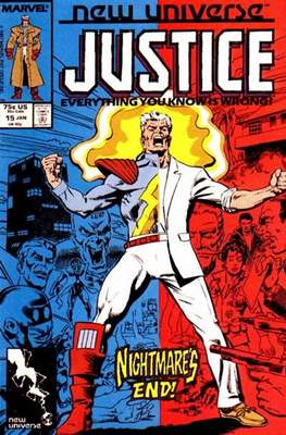 Justice. New Universe (1986) (Grapa.) #15