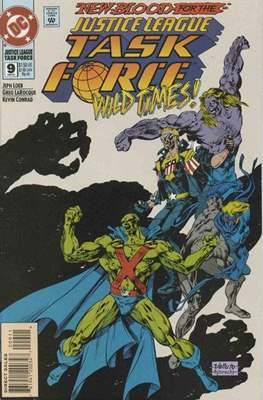 JLA Task Force (Comic Book) #9