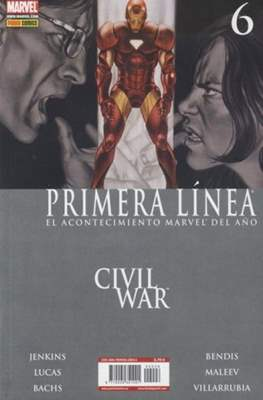 Civil War: Primera Línea (2007) (Rústica) #6