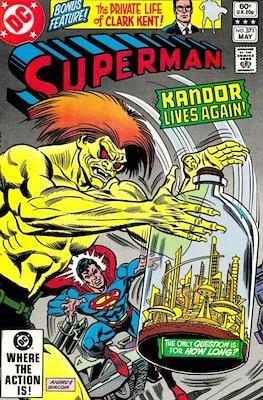 Superman Vol. 1 / Adventures of Superman Vol. 1 (1939-2011) (Comic Book) #371