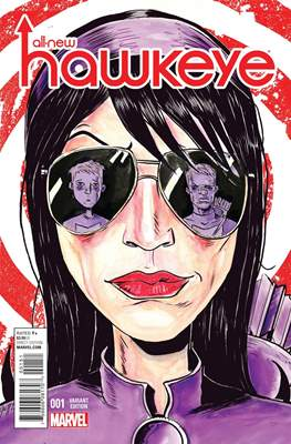 All New Hawkeye Vol.1 (2015- Variant Covers) #1.3