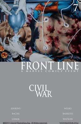Civil War: Front Line (Comic-Book) #7