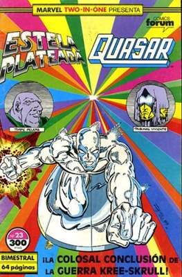 Estela Plateada Vol. 1 / Marvel Two-In-One: Estela Plateada & Quasar (1989-1991) (Grapa 32-64 pp) #23