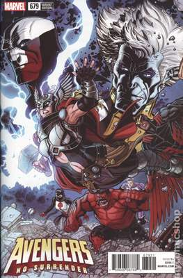 The Avengers Vol. 7 (2016-...Variant Covers ) (Grapa) #679