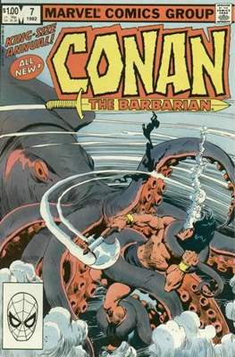 Conan The Barbarian Annuals (1973-1987) (Grapa, 48 págs.) #7
