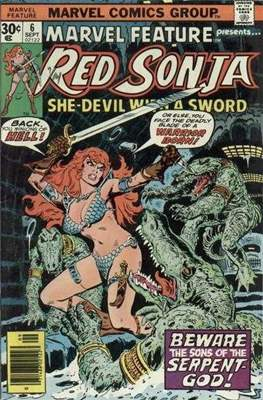 Marvel Feature presents Red Sonja (Comic Book) #6