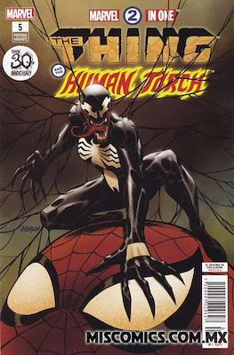 Marvel 2-In-One (2018-2019 Portada variante) (Grapa) #5