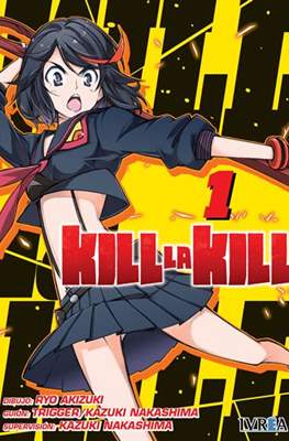 Kill la Kill (Rústica con sobrecubierta) #1
