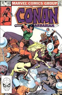Conan The Barbarian (1970-1993) (Comic Book 32 pp) #143