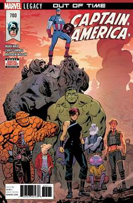 Captain America Vol. 8 (2017-2018) (Comic Book) #700