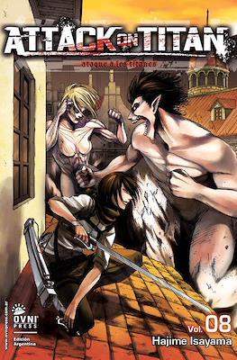 Attack on Titan (Rústica con solapas) #8