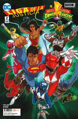 Liga de la Justicia / Mighty Morphin Power Rangers (Grapa 24 pp) #2