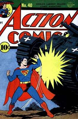 Action Comics Vol. 1 (1938-2011; 2016-) (Comic Book) #40