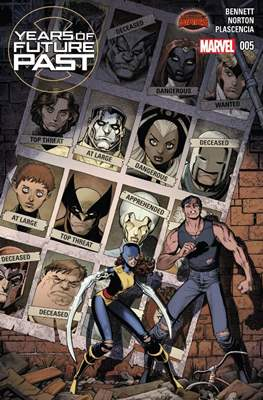 Years of Future Past (Comic-book) #5