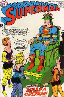 Superman Vol. 1 / Adventures of Superman Vol. 1 (1939-2011) (Comic Book) #223