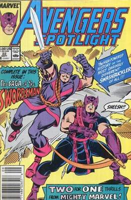 Solo Avengers / Avengers Spotlight (Comic book) #22