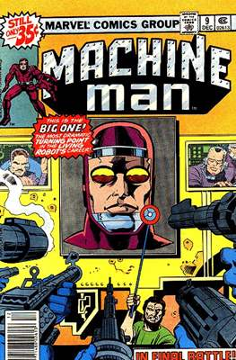 Machine Man #9